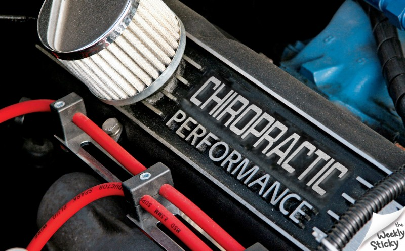 Chiropractic Performance Engine Block